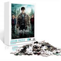 YITUOMO Harry Potter e i Doni della Morte: Parte 2 Poster del Film 1000 Pezzi Puzzle per Adulti Puzzle in Legno Puzzle educativi Giocattoli Regalo per Adulti e Bambini Sfida