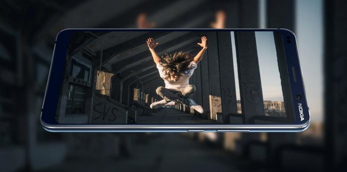 Immagine stampa del Nokia 9 Pure View