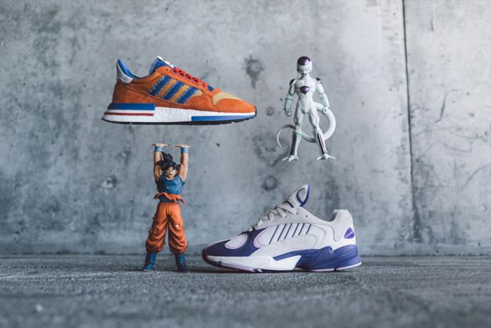 Goku e Freezer scarpe Dragon Ball