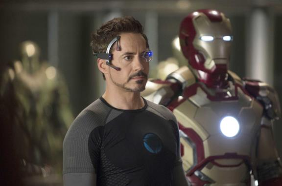 Robert Downey Jr. nei panni di Tony Stark in Iron Man 3