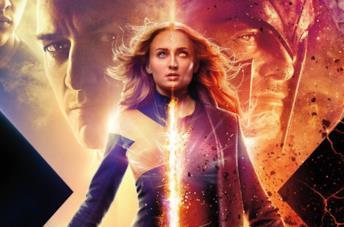 Il poster promozionale di X-Men: Dark Phoenix
