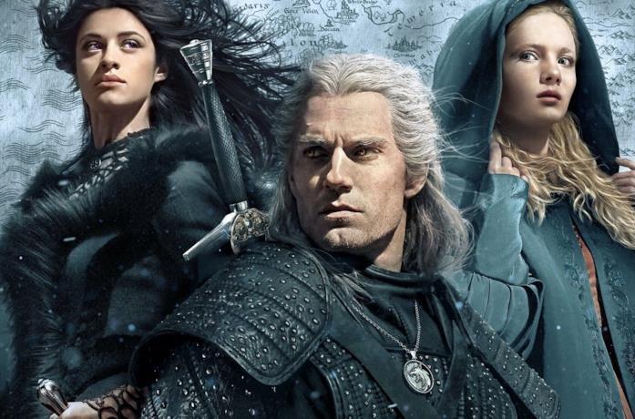 Henry Cavill è Geralt di Riva nella serie TV The Witcher