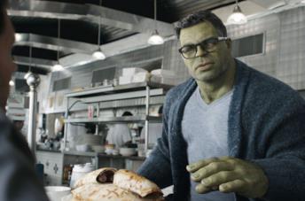 Hulk in Avengers: Endgame