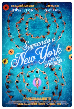 Il cast nel poster di Sognando New York - In the Heights