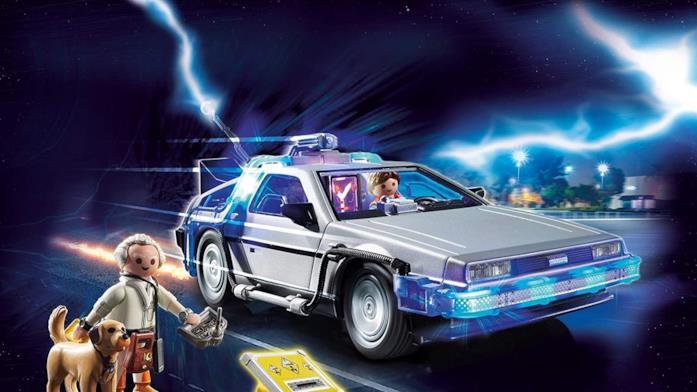 DeLorean Playmobil