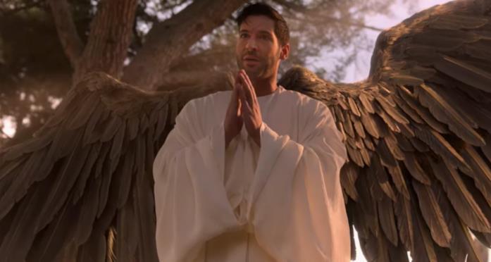 Michael come l'arcangelo