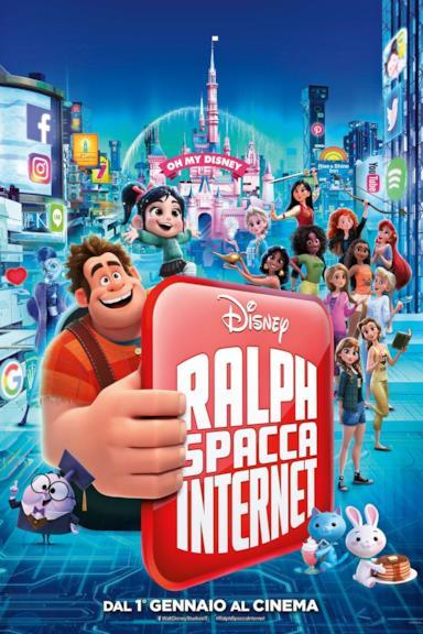 Poster Ralph spacca Internet