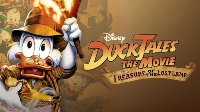 Nel film di DuckTales zio Paperone va alla ricerca del tesoro di Collie Baba