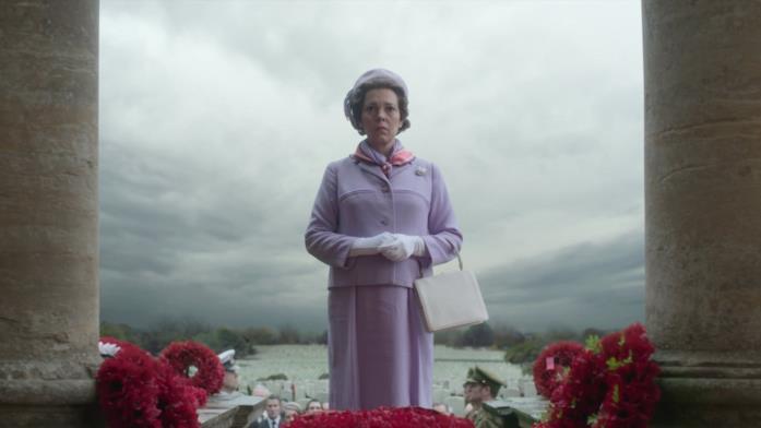 Elisabetta II in The Crown