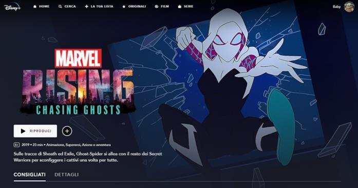 Cortometraggi Marvel su Disney+