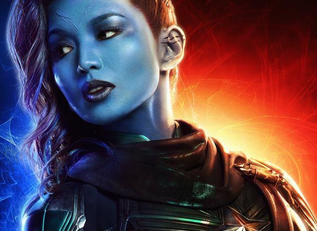 Character poster di Captain Marvel dedicato a Minn-Erva