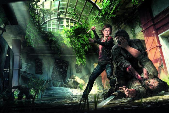 Una scena dal videogioco di The Last of Us