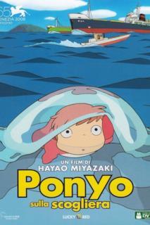 Poster Ponyo sulla scogliera