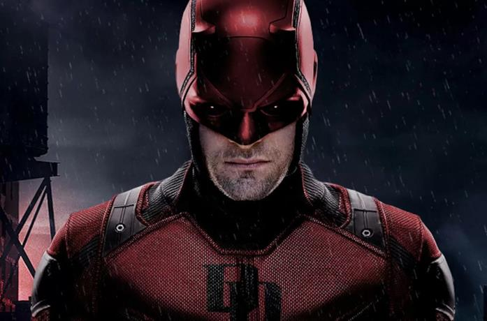 Un'immagine di Daredevil nella serie Netflix
