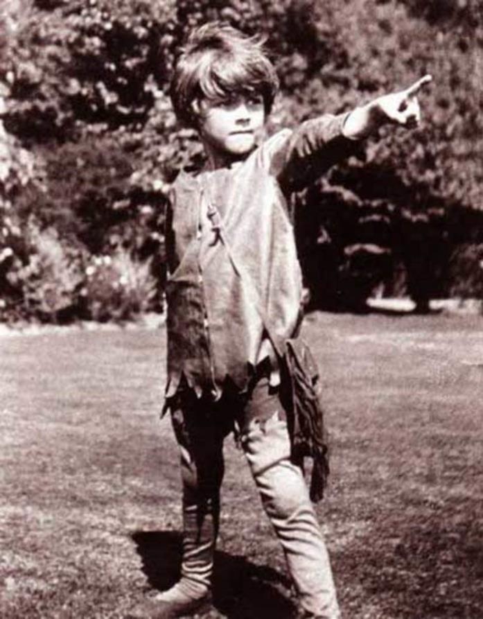 Il piccolo Michael Lllewelyn Davies