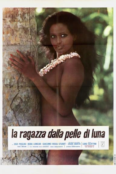 Poster La ragazza dalla pelle di luna