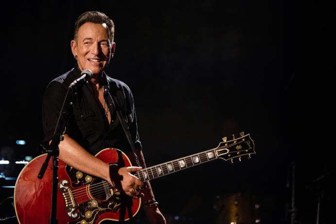 Springsteen sorride in Western Stars