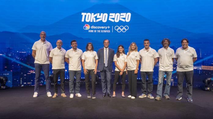 Il team di Discovery Italia