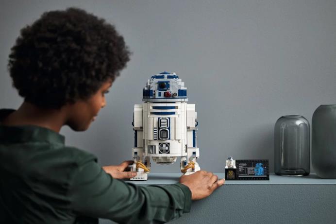 Dettagli esposizione R2-D2
