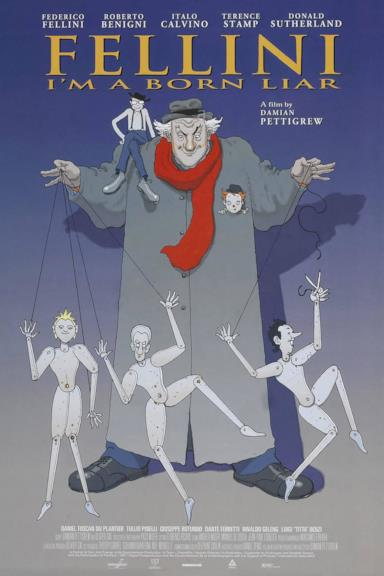 Poster Fellini: Sono un gran bugiardo