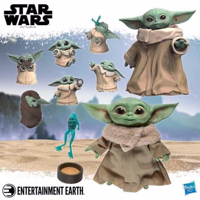 Tutti i giocattoli Hasbro di Baby Yoda in arrivo a maggio 2020