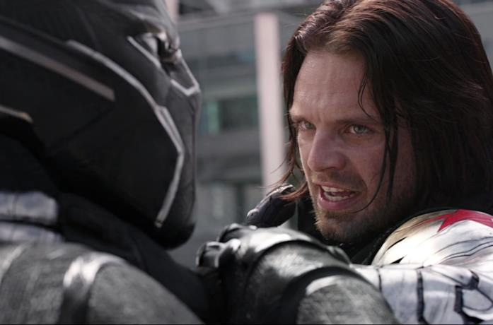 Black Panther e Winter Soldier si affrontano