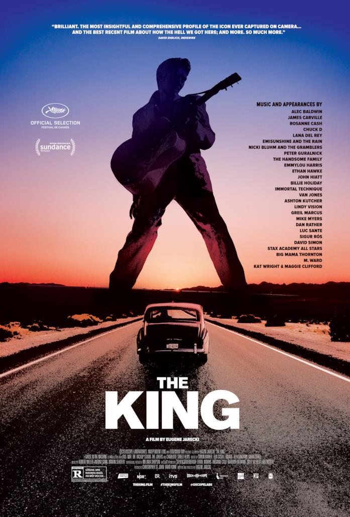 La locandina del documentario su Elvis Presley