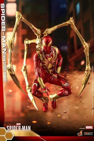 La tenuta Iron Spider di Spider-Man