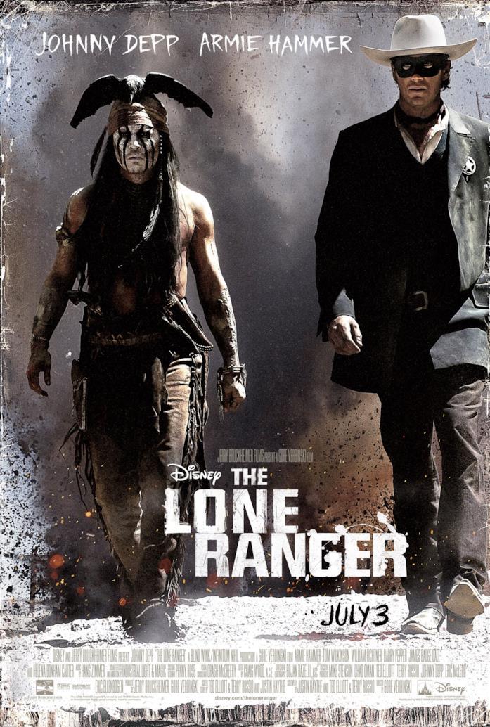 Il poster di The Lone Ranger
