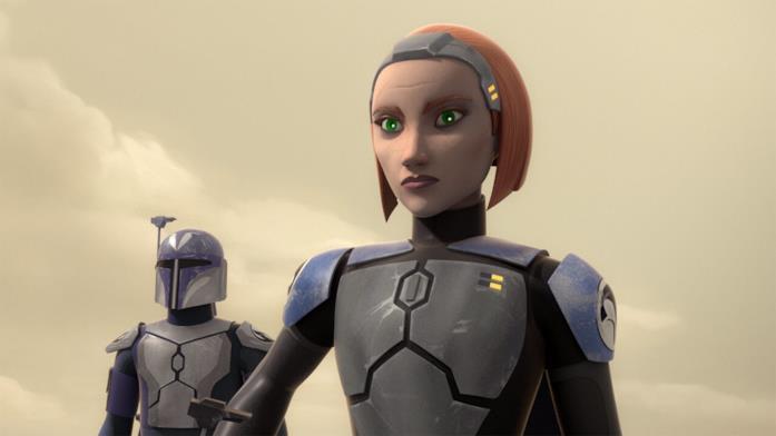 Bo-Katan Kryze in Star Wars: The Clone Wars