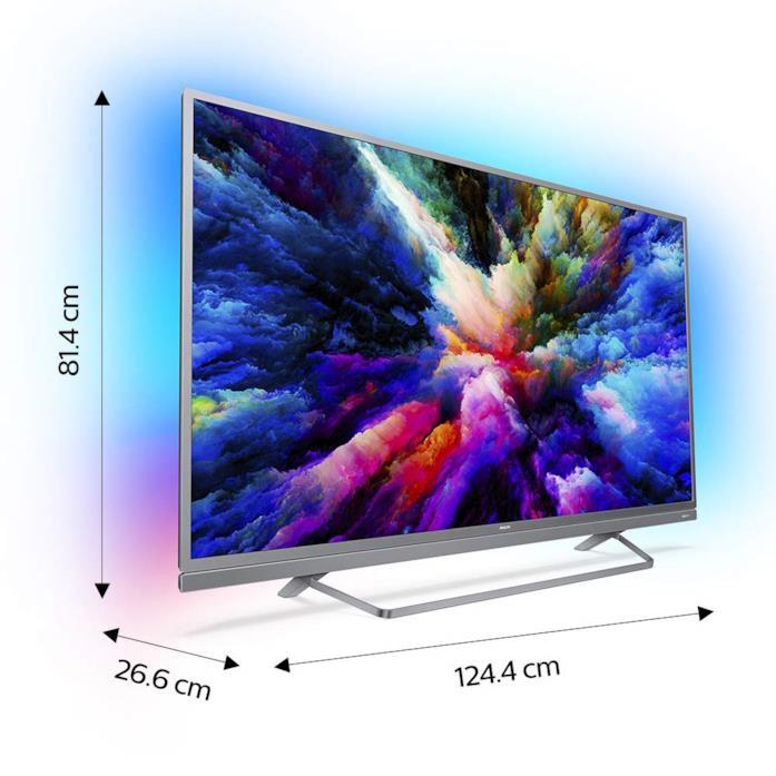 "Philips 55PUS7503 Smart TV UHD 4K (3840 x 2160 px), da 55"""