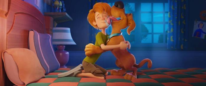Scooby! - i due protagonisti del film d'animazione