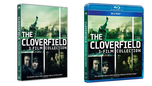 Cloverfield Collection 3 film in formato DVD e Blu-ray