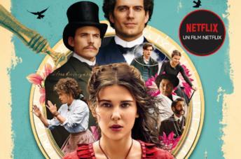 Il poster Netflix di Enola Holmes