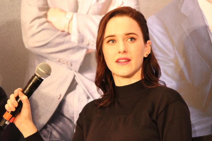 L'attrice Rachel Brosnahan