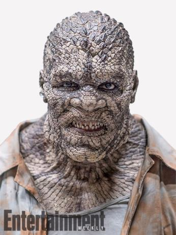 Il character poster di Killer Croc (Adewale Akinnuoye-Agbaje) in Suicide Squad