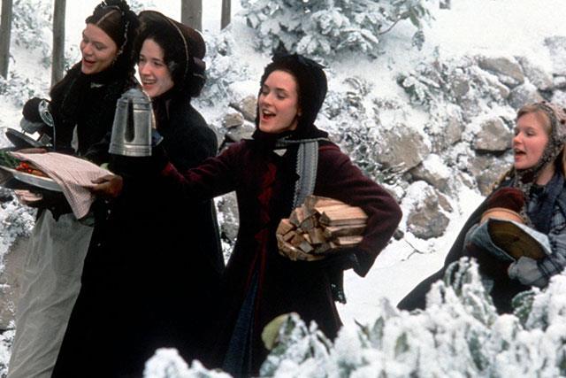 Le sorelle March in una scena di Piccole Donne
