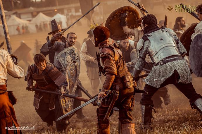 Nel pieno della battaglia di Battle for Vilegis