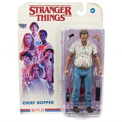 Heo - Stranger Things Figura Chief Hopper, Multicolore (McFarlane MCF10560-5)