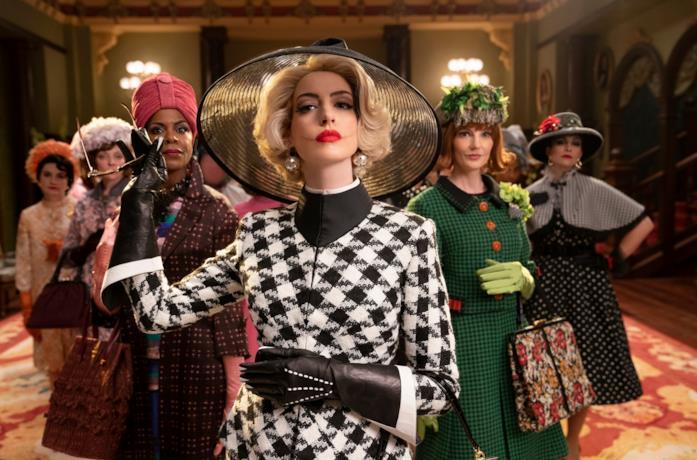 Il cast de Le Streghe con Anne Hathaway