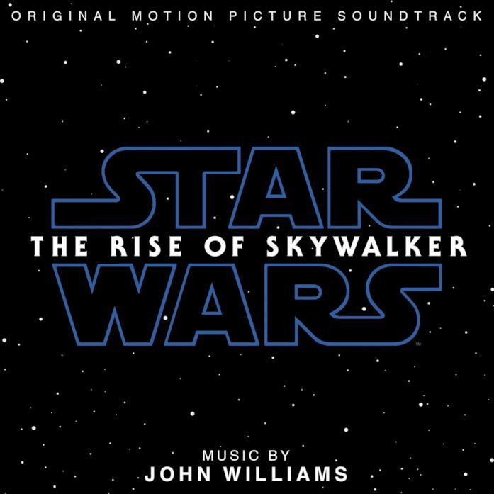 La copertina della colonna sonora di Star Wars: L'ascesa di Skywalker