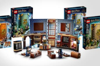 I set-libri LEGO di Harry Potter