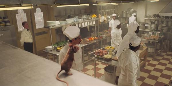 La scena della cucina nel film Le streghe