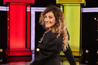 Nina Palmieri che sorride