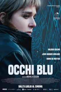 Poster Occhi blu