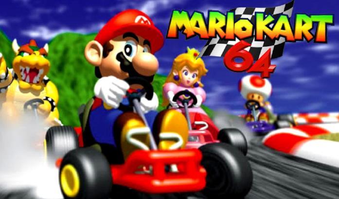 Mario Kart 64 uscì nel dicembre del 1996