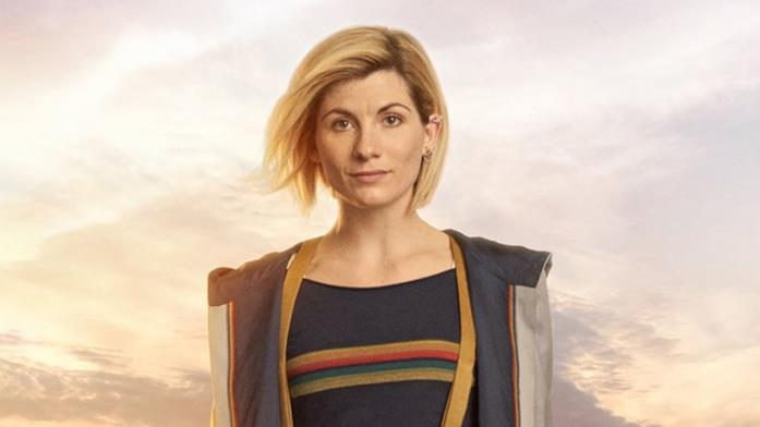 Jodie Whittaker in un'immagine promozionale di Doctor Who