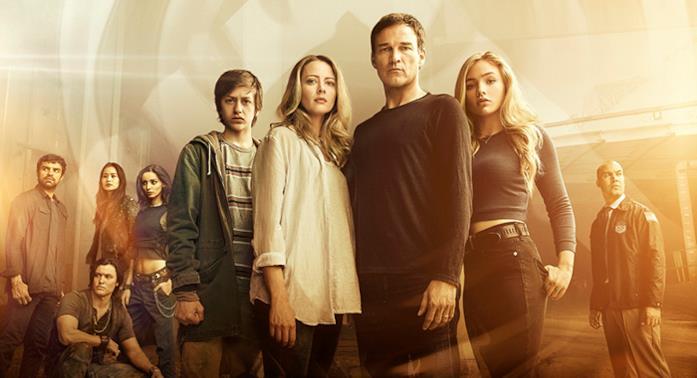 Il poster promo di The Gifted