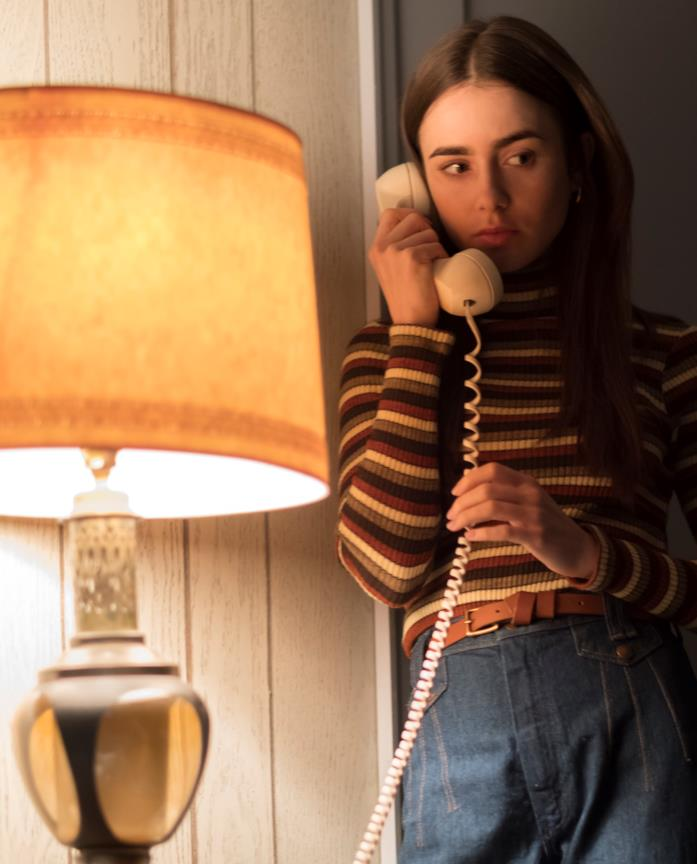 Lily Collins in Ted Bundy - Fascino criminale