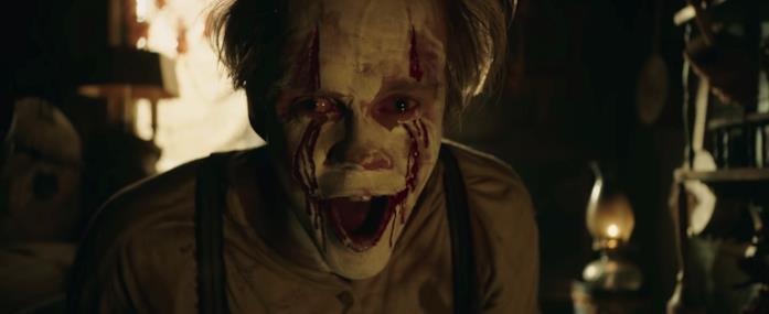 IT: Capitolo 2, IT urla in un'immagine dal trailer finale